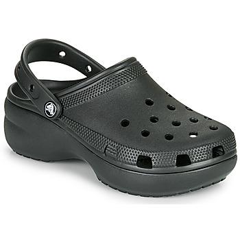 Topánky Ženy Nazuvky Crocs CLASSIC PLATFORM CLOG W Čierna