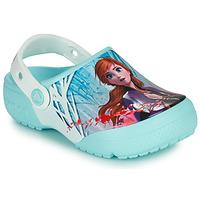 Topánky Dievčatá Nazuvky Crocs CROCSFL OL DISNEY Modrá