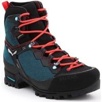 Topánky Ženy Turistická obuv Salewa WS Raven 3 GTX 61344-8736 green, black, red