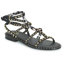 Topánky Ženy Sandále Ash PATCHOULI Čierna / Viacfarebná
