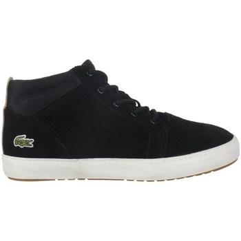 Topánky Ženy Polokozačky Lacoste Ampthill Chukka 417 1 Caw Čierna