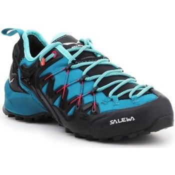 Topánky Ženy Bežecká a trailová obuv Salewa WS Wildfire Edge Modrá, Grafit