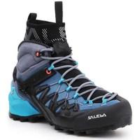 Topánky Ženy Turistická obuv Salewa WS Wildfire Edge Mid Gtx Čierna, Modrá, Grafit