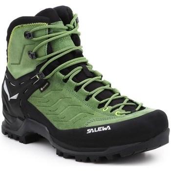 Topánky Muži Turistická obuv Salewa MS Mtn Trainer Mid Gtx Čierna,Zelená