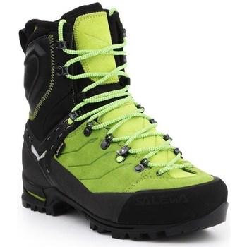 Topánky Muži Polokozačky Salewa MS Vultur Evo Gtx Čierna, Pastelová zelená