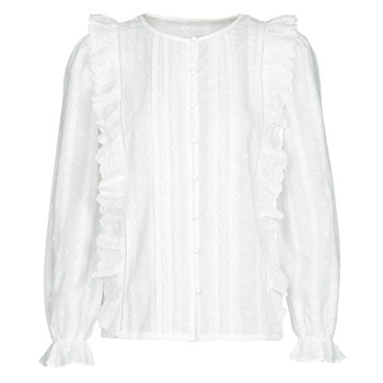 Oblečenie Ženy Blúzky Betty London NIAMAIM Biela