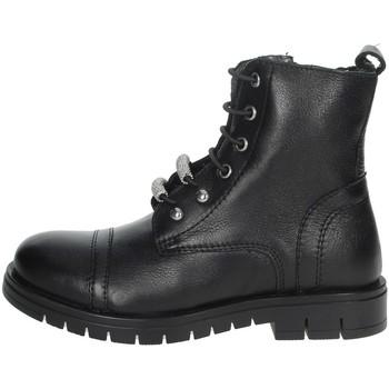 Topánky Dievčatá Polokozačky Grunland PO1504 Black
