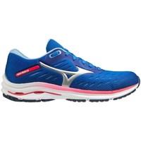 Topánky Ženy Bežecká a trailová obuv Mizuno Wave Rider 24 Modrá