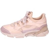 Topánky Ženy Členkové tenisky Moma BK453 Ružová