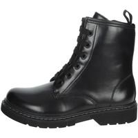 Topánky Dievčatá Polokozačky Asso AG-8900 Black