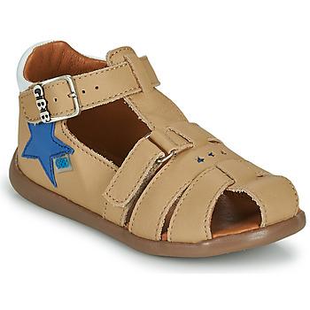 Topánky Chlapci Sandále GBB GARDOU Béžová