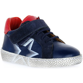 Topánky Chlapci Polokozačky Grunland BLU NOON Blu