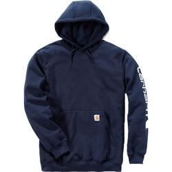 Oblečenie Mikiny Carhartt Sweatshirt à capuche  Logo bleu marine