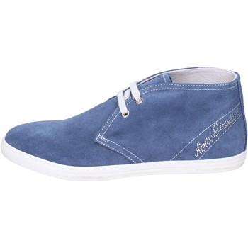 Topánky Dievčatá Čižmičky NeroGiardini Členkové Topánky BK487 Modrá