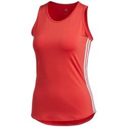 Oblečenie Ženy Tielka a tričká bez rukávov adidas Originals Wmns 3STRIPES Tank Top Červená