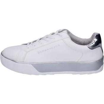 Topánky Dievčatá Módne tenisky Silvian Heach BK491 Biely
