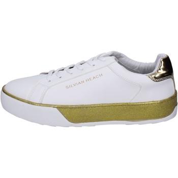 Topánky Dievčatá Módne tenisky Silvian Heach BK492 Biely
