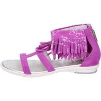 Topánky Dievčatá Sandále 1A Classe Alviero Martini BK495 Fialový