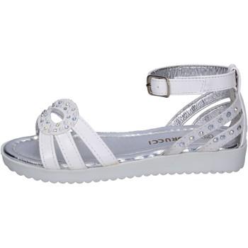 Topánky Dievčatá Sandále Fiorucci BK504 Biely