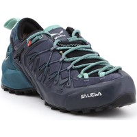 Topánky Ženy Turistická obuv Salewa WS Wildfire Edge GTX 61376-3838 black, green, navy