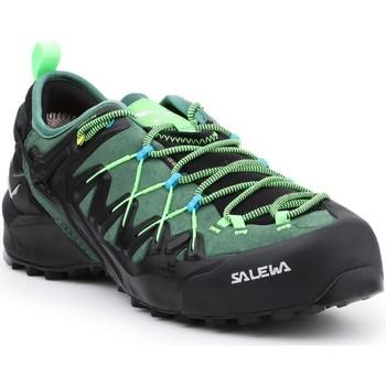 Topánky Muži Turistická obuv Salewa MS Wildfire Edge GTX 61375-5949 black, green