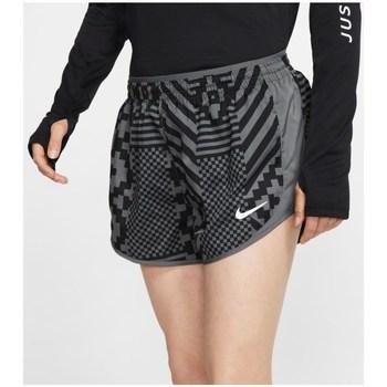 Oblečenie Ženy Šortky a bermudy Nike Tempo Lux Čierna, Sivá