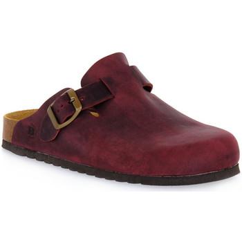 Topánky Nazuvky Bioline 1900 VINO INGRASSATO Rosso