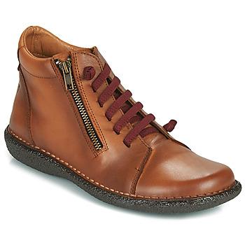 Topánky Ženy Polokozačky Casual Attitude NELIO Ťavia hnedá