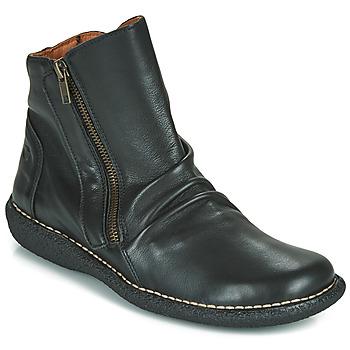 Topánky Ženy Polokozačky Casual Attitude NELIOO Čierna