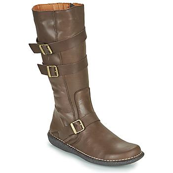 Topánky Ženy Čižmy do mesta Casual Attitude NIBOOT Hnedá