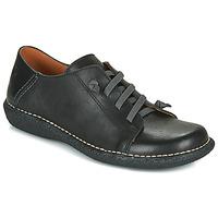 Topánky Ženy Derbie Casual Attitude NIPITE Čierna