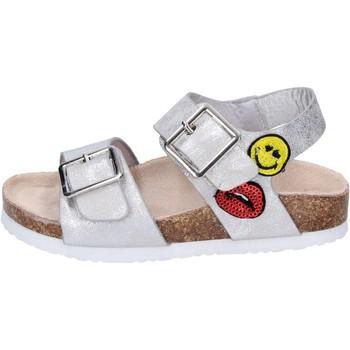 Topánky Dievčatá Sandále Smiley Sandali Pelle sintetica Argento