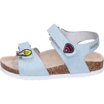 Topánky Dievčatá Sandále Smiley Sandali Tessuto Blu