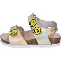 Topánky Dievčatá Sandále Smiley Sandali Pelle sintetica Oro