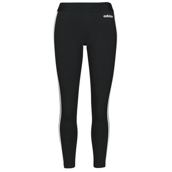 Oblečenie Ženy Legíny adidas Originals W E 3S TIGHT Čierna / Biela