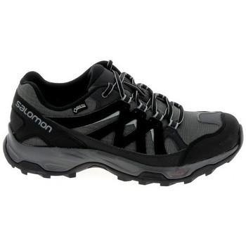 Topánky Turistická obuv Salomon Effect GTX Noir Gris Čierna
