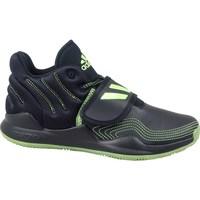 Topánky Deti Členkové tenisky adidas Originals Deep Threat J Čierna