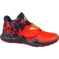 Topánky Deti Členkové tenisky adidas Originals Deep Threat J Červená, Grafit