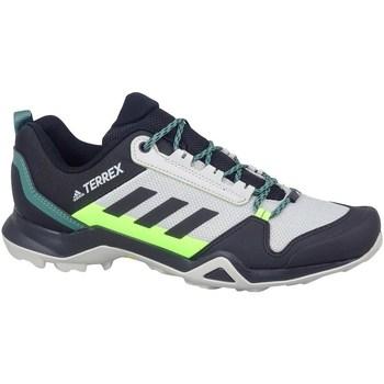 Topánky Muži Turistická obuv adidas Originals Terrex AX3 Hiking Sivá, Pastelová zelená, Grafit