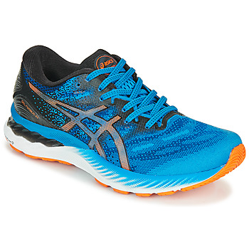Topánky Muži Bežecká a trailová obuv Asics NIMBUS 23 Modrá / Viacfarebná