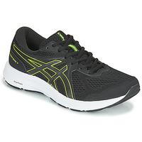 Topánky Muži Bežecká a trailová obuv Asics CONTEND 7 Čierna / Žltá