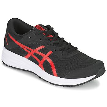 Topánky Muži Bežecká a trailová obuv Asics PATRIOT 12 Čierna / Červená