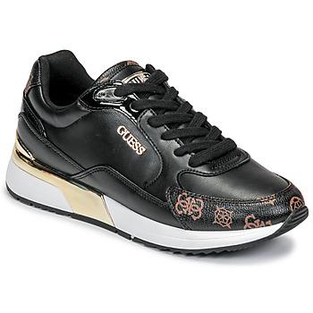Topánky Ženy Nízke tenisky Guess MOXEA Čierna