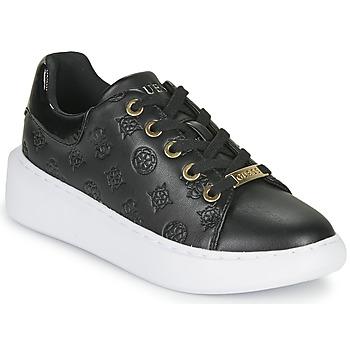 Topánky Ženy Nízke tenisky Guess BRADLY Čierna