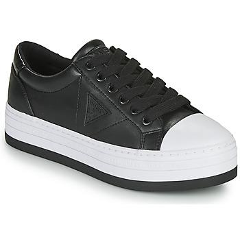 Topánky Ženy Nízke tenisky Guess BRODEY3 Čierna