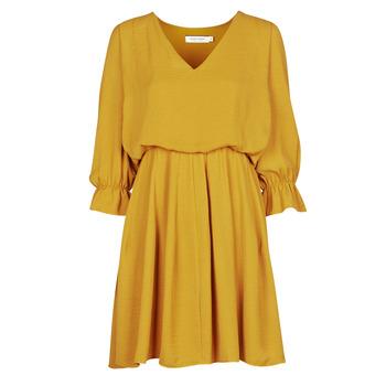 Oblečenie Ženy Krátke šaty Naf Naf  Žltá
