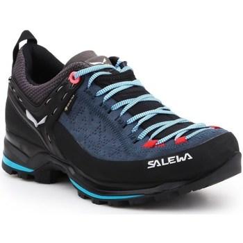 Topánky Ženy Fitness Salewa WS Mtn Trainer 2 Gtx Čierna, Tmavomodrá