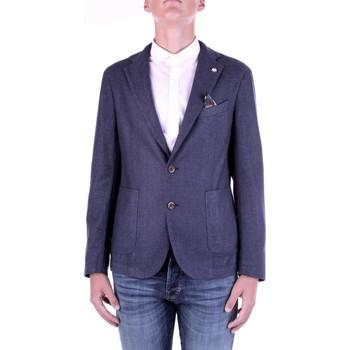Oblečenie Muži Saká a blejzre Manuel Ritz 2932G2728TW-203507 Blu