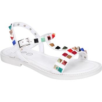 Topánky Dievčatá Sandále Joli Sandali Pelle sintetica Borchie Bianco