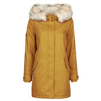 Oblečenie Ženy Parky Only ONLMAY LIFE Žltá horčicová